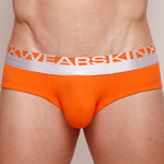 Skinxwear X-tremo Hip Briefs – Vibrant Orange (SX229)